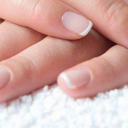 nagels wit maken